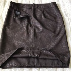 Willi Smith Skirts - WILLI SMITH animal print skirt